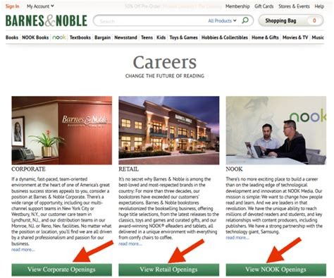 and noble career barnes and noble career guide barnes and noble