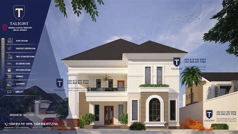 talightng architectural design   bedroom duplex plan  nigeria   architecture