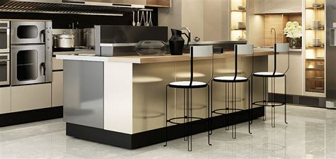new metal kitchen cabinets colored stainless steel kitchen cabinet oppeinhome 3518