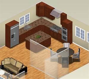 5, Kitchen, Layouts, Using, L