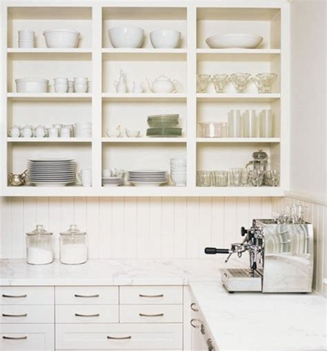 Shelves For Kitchen Cupboards by Open Shelves Using Existing Cabinets Kitchen Simplified Bee