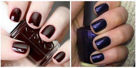 dark nail polish colors nail polish  fall