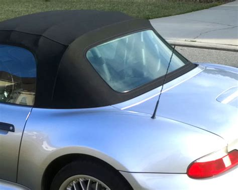 Bmw Z3 Rear Window Replacement With Premium Rubber Bead Trim