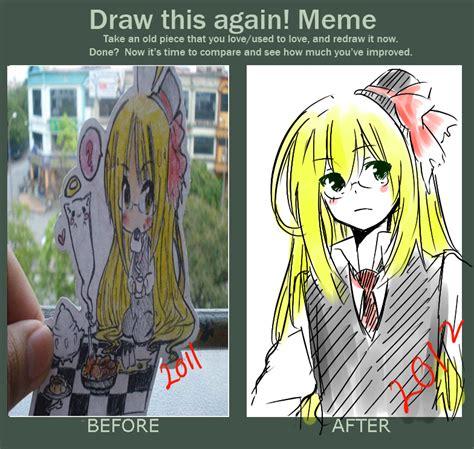 Draw This Again Meme - draw again meme by fourseasons001 on deviantart