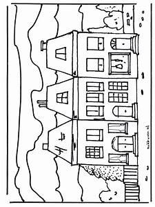 Haus 2 Ausmalbilder Huser