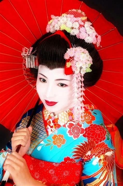 Geisha makeup tutorial and pictures   yve style.com
