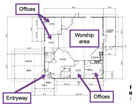 church floor plans  designs