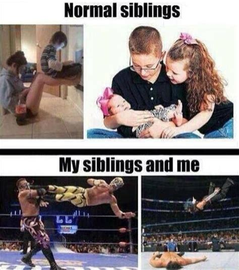 Siblings Fighting Meme - there are no rivalries quite like sibling rivalries 20 pics relatable pinterest sibling