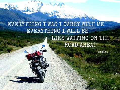 Everything I Was I Carry With Me.. Travel Quote