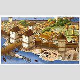 Medieval Monastery Layout | 736 x 453 jpeg 106kB