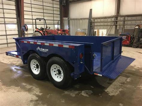 drop deck utility trailer 2017 air tow 6x10 drop deck air ride utility trailer