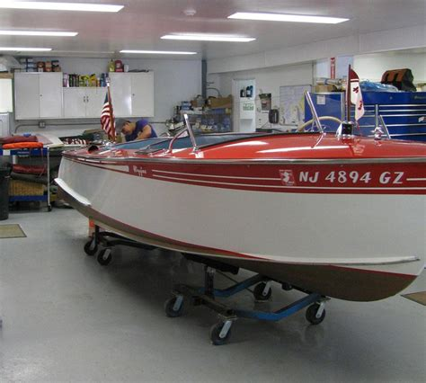 1956 Higgins Wood Boat by 1948 Higgins Runabout
