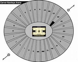 Carver Hawkeye Arena Seating Chart