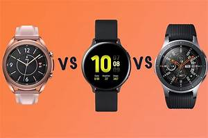 Best Samsung Galaxy Watch  Watch 3 Vs Active Vs Galaxy Watch