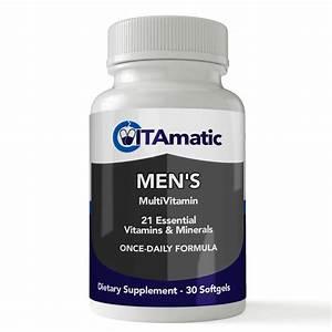 Finding The Right Multivitamin For Men Under 50