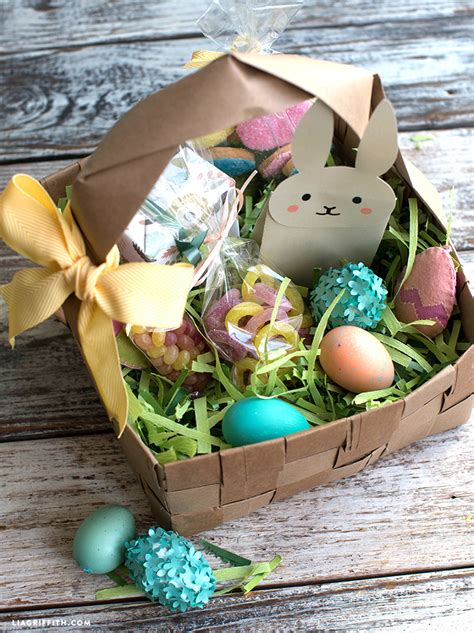 upcycled large diy easter basket lia griffith