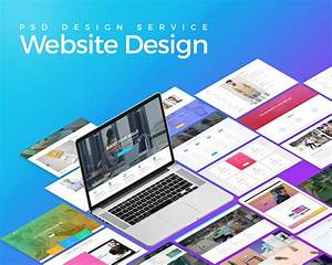 Psd Website Design Service By Kl