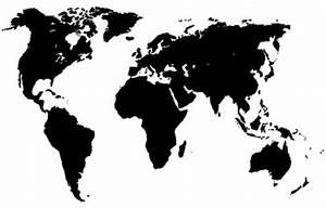 Carte Du Monde Noir : photos illustrations et vid os de carte du monde ~ Teatrodelosmanantiales.com Idées de Décoration