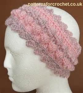 Free Printable Crochet Headband Patterns