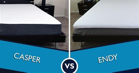 endy vs casper mattress review sleepopolis