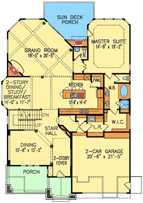 harmonious narrow lot house plans craftsman plan 15719ge craftsman home plan with overlooks