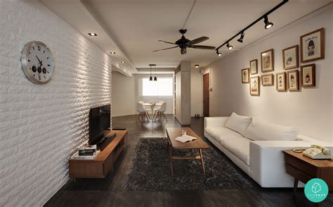 contemporary platform bed with lights how much does it really cost to renovate an hdb flat
