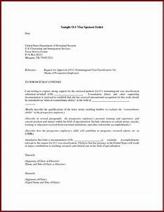 o1 visa recommendation letter best template collection With sponsor letter template for visa