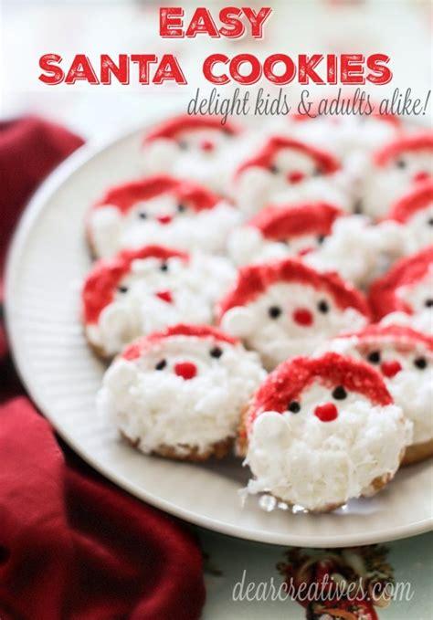 holiday cookies recipes santa cookies recipe easy