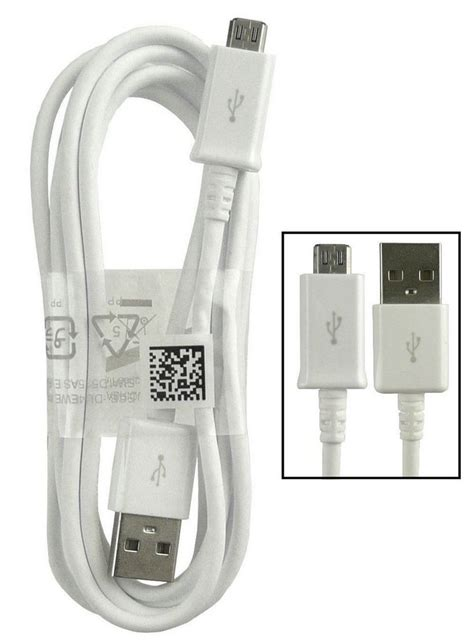 official samsung micro usb data charger cable ecb duawe doohickey hut