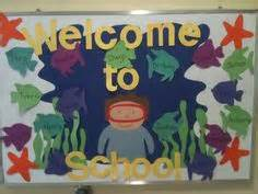 Zoo theme preschool bulletin board I found the large