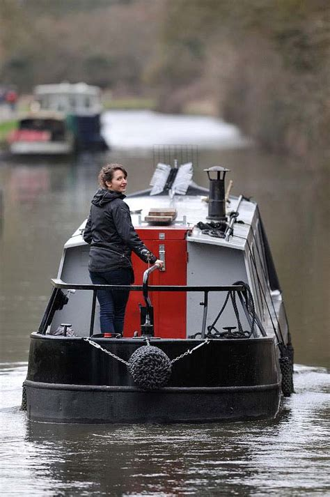 Living On A Canal Boat by Dominique S Narrow Boat
