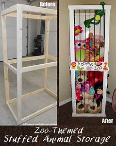 Cute Stuffed Animal Storage and Organization DIY Idea