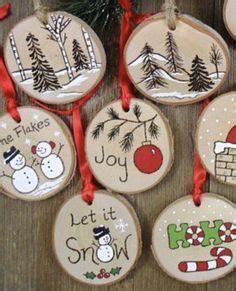wood slice ornaments christmas crafts christmas