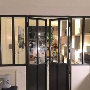 une verriere atelier With porte d entrée alu avec luminaire salle de bain industriel