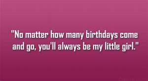 little girl birthday quotes Quotes
