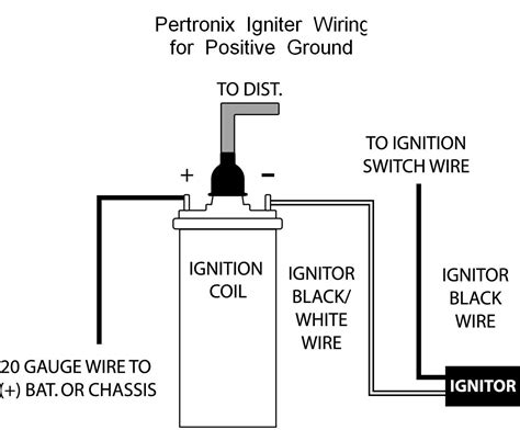 ignition coil wiring diagram representation newomatic