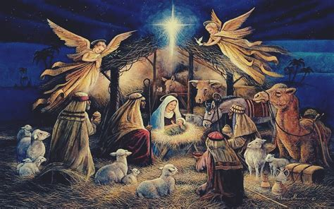 Jesus Birth Images Wallpaper by Jesus Wallpapers 66 Background Pictures