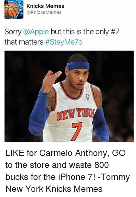 Knicks Memes - funny carmelo anthony memes of 2017 on sizzle basketball