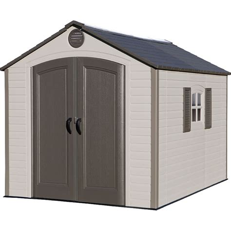 lifetime 8 ft x 10 ft outdoor storage shed storage