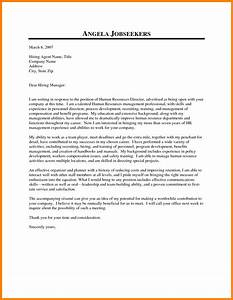 address cover letter to human resources manager With human resources cover letter