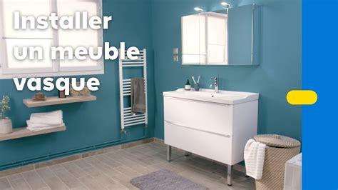 Comment Poser Un Meuble Vasque Dans Une Salle De Bains