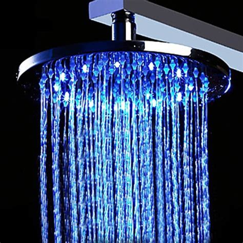20 inch Stainless Steel Shower Head with Color Changing