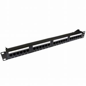 24 Port Cat 5e Patch Panel From  U00a315 50