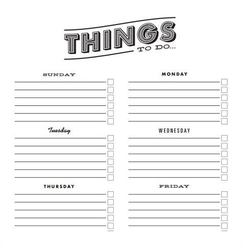 checklist samples sample templates
