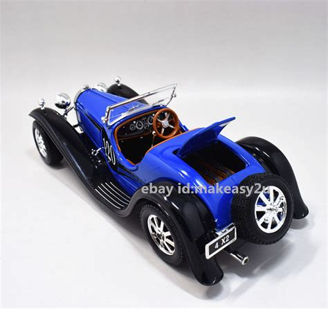 More than 48 bugatti kit car at pleasant prices up to 539 usd fast and free worldwide shipping! Bburago 1:24 Bugatti Tupe 55 Diecast Assembly Line KIT Model Car New Blue | eBay