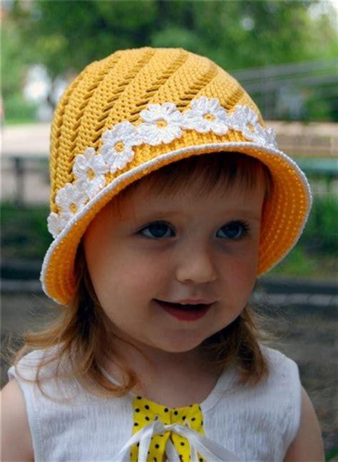 yellow hat cap for girls crochet kingdom