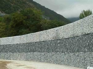 Mur En Gabion : gamme genie civil o m g ~ Premium-room.com Idées de Décoration