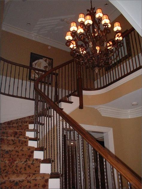 french country home traditional staircase chicago
