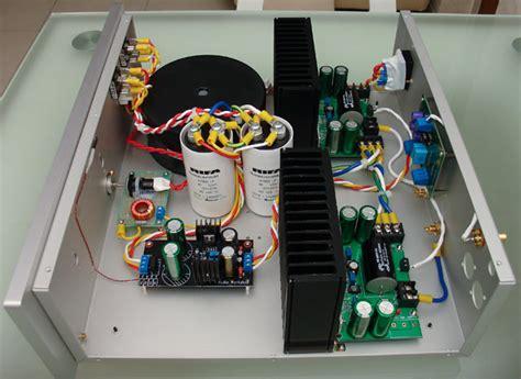 diy bpa  lm  audio amplifier
