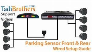 Backup Parking Sensor Installation Guide